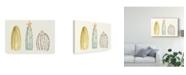 "Trademark Global June Erica Vess Funky Succulents II Canvas Art - 15"" x 20"""