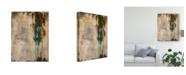 "Trademark Global Julie Joy Infinite Time I Canvas Art - 15"" x 20"""