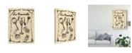 "Trademark Global Melissa Wang Bath Femme II Canvas Art - 15"" x 20"""