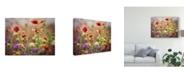 "Trademark Global Sonja Quintero Wild Blooms I Canvas Art - 15"" x 20"""