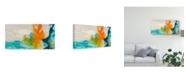 "Trademark Global Sisa Jasper Tidal Abstract I Canvas Art - 20"" x 25"""