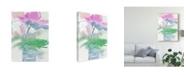 "Trademark Global Samuel Dixon Pretty Pink Flowers I Canvas Art - 15"" x 20"""