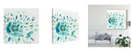 "Trademark Global June Erica Vess Starburst Floral I Canvas Art - 15"" x 20"""