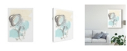 "Trademark Global June Erica Vess Perpetual Gesture III Canvas Art - 15"" x 20"""