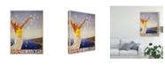"""Trademark Global Studio W See South America III Canvas Art - 20"""" x 25"""""""