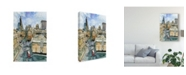 """Trademark Global Melissa Wang City Scene III Canvas Art - 20"""" x 25"""""""