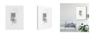 "Trademark Global June Erica Vess Block Print Composition II Canvas Art - 15"" x 20"""
