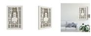 "Trademark Global Vision Studio Palais Des Tuileries, Paris II Canvas Art - 15"" x 20"""