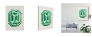 "Trademark Global Chariklia Zarris Bijou II Canvas Art - 15"" x 20"""