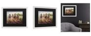 """Trademark Global Masters Fine Art Kentucky Derby Matted Framed Art - 20"""" x 25"""""""