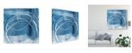"Trademark Global Ethan Harper Indigo Expression I Canvas Art - 27"" x 33"""