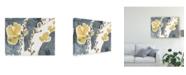 """Trademark Global Jennifer Goldberger Branch Contours V Canvas Art - 15"""" x 20"""""""