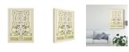 "Trademark Global J.F. Blondel Green Garden Maze III Canvas Art - 20"" x 25"""