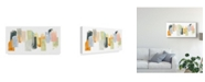 "Trademark Global June Erica Vess Touchstone I Canvas Art - 20"" x 25"""