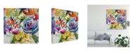 "Trademark Global Chariklia Zarris Summer Spectrum I Canvas Art - 27"" x 33"""