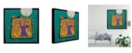 "Trademark Global Sue Davis Tree Under the Moon Canvas Art - 27"" x 33"""