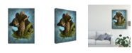 "Trademark Global Patrick Lamontagne Baby Gruff Canvas Art - 37"" x 49"""