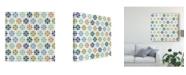 "Trademark Global Veronique Charron Otomi Lake Step 06A Canvas Art - 15"" x 20"""