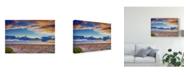 "Trademark Global Pixie Pics Sand Under Clouds I Canvas Art - 37"" x 49"""