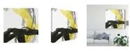 "Trademark Global June Erica Vess Citron Flux IV Canvas Art - 15"" x 20"""