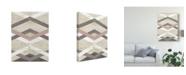 "Trademark Global June Erica Vess Midpoint I Canvas Art - 20"" x 25"""