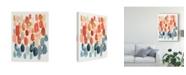 "Trademark Global Chariklia Zarris Citrus Season II Canvas Art - 20"" x 25"""