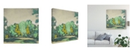 "Trademark Global Chariklia Zarris Treeline I Canvas Art - 20"" x 25"""