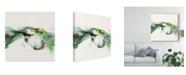"""Trademark Global Sisa Jasper Ua Ch Green Terrain I Canvas Art - 15"""" x 20"""""""