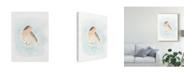 """Trademark Global June Erica Vess Dapper Bird III Canvas Art - 20"""" x 25"""""""