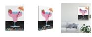 """Trademark Global Regina Moore Mix Me a Drink IV Canvas Art - 20"""" x 25"""""""