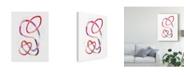 "Trademark Global Victoria Borges Polychrome Tangle II Canvas Art - 20"" x 25"""