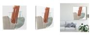 "Trademark Global Jennifer Goldberger Earthy Gestures IX Canvas Art - 27"" x 33"""