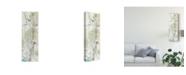 """Trademark Global Jennifer Goldberger Contour Stem II Canvas Art - 37"""" x 49"""""""