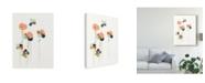 """Trademark Global June Erica Vess Modular Bouquet I Canvas Art - 20"""" x 25"""""""