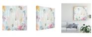 """Trademark Global June Erica Vess Interior Orbit III Canvas Art - 27"""" x 33"""""""