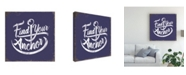 "Trademark Global Jj Brando Punny Nautical IV Canvas Art - 27"" x 33"""