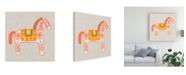 "Trademark Global Studio W Decorative Burro I Canvas Art - 27"" x 33"""