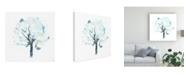 """Trademark Global June Erica Vess Liquid Arbor II Canvas Art - 27"""" x 33"""""""