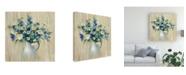 "Trademark Global Silvia Vassileva Coastal Bouquet Canvas Art - 15"" x 20"""