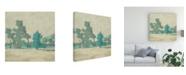 "Trademark Global Chariklia Zarris Surround Scape I Canvas Art - 20"" x 25"""