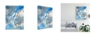 """Trademark Global Regina Moore Subtle Blues I Canvas Art - 20"""" x 25"""""""