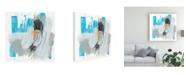 "Trademark Global June Erica Vess Symphony in Riffs III Canvas Art - 15"" x 20"""