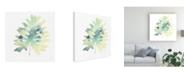 "Trademark Global June Erica Vess Prisma Tropical VI Canvas Art - 27"" x 33"""