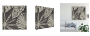 "Trademark Global June Erica Vess Tribal Palms IV Canvas Art - 27"" x 33"""