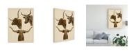 "Trademark Global Melissa Wang Wild World III Canvas Art - 20"" x 25"""