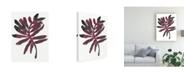 "Trademark Global June Erica Vess Foliage Fossil III Canvas Art - 15"" x 20"""