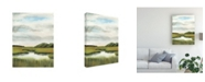 "Trademark Global Naomi Mccavitt Marsh Landscapes II Canvas Art - 37"" x 49"""