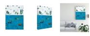 "Trademark Global Tim Otoole Patches I Canvas Art - 37"" x 49"""