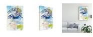 "Trademark Global Jodi Fuchs Mon Amour Canvas Art - 15"" x 20"""