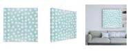 "Trademark Global Veronique Charron Festive Forest Pattern IXB Canvas Art - 15.5"" x 21"""